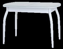 Стол «Гала-13» (кожзам под стеклом, эмаль)